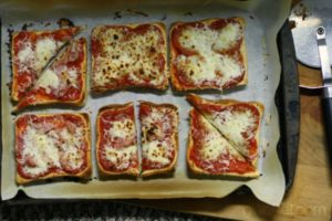 ricetta Pizza Toast