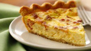 ricetta torta salata con uova e pancetta e ricotta